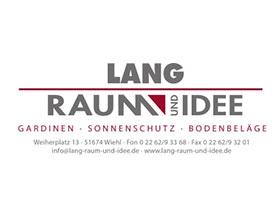 LANG, Raum und Idee